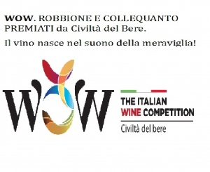 WOW PRIZE TO ROBBIONE & COLLEQUANTO FROM CIVILTA' DEL BERE