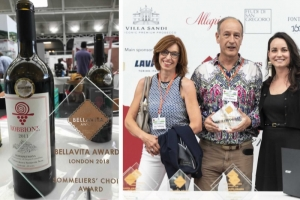 SOMMELIERS' CHOICE ROBBIONE DOCG 2011 - Bellavita Expo London 2018